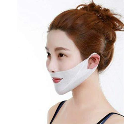 kemai Anti-Falten-Gesichtslifting V-Form Maske, Hals und Kinn Lift Mask für Hautstraffung, Straffung, Anti-Falten und Lifting (Abnehmen Form)