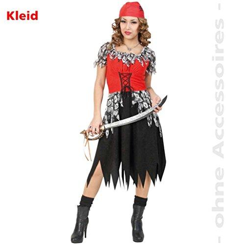 Imagen de carnaval 10665 disfraz pirata vestido de halloween horror eysee/original tamaño 44