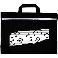 MAPAC MP11310-BK Duo música bolsa con Motif - Negro