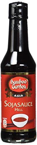 Bamboo Garden Soja Sauce Hell 140ml, 2er Pack (2 x 140 ml) Helle Soja Sauce