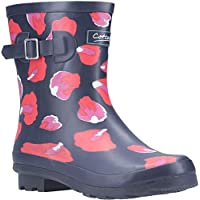 Cotswold Badminton Womens Rubber Material Wellies Petal