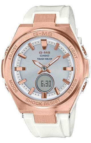 Reloj Casio MSG-S200G-7AER Blanco Acero 316 L Mujer