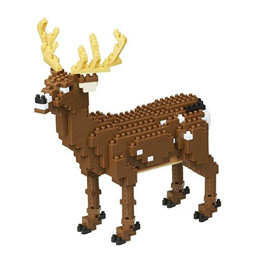 Nanoblock- NBM024 Deer Juguete, Kawada