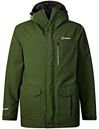 Berghaus Hillmaster, Giacca Impermeabile Uomo, Chive, M