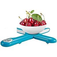 Camry Báscula Digital de Cocina Plegable, Balanza Electrónica para Cocinar Multifuncional, Mini Balanza para