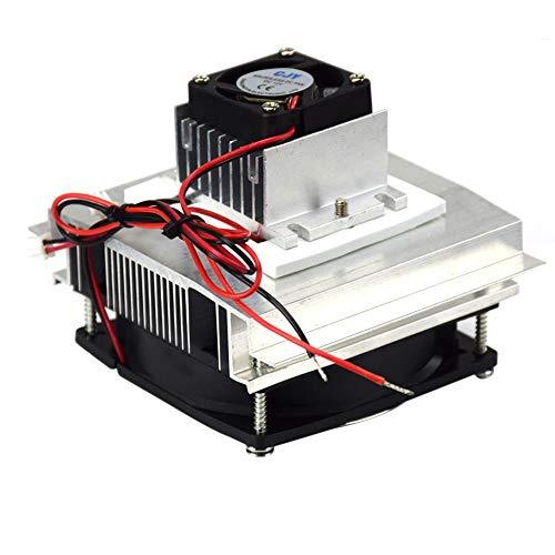 Thermoelektrischer Peltier-Kühler Kühlung Kühlsystem Kit Single Core Kühlschrank Haustier Klimaanlage Tragbarer Kühler für Aquarium-Kühlung Computer-Komponenten -