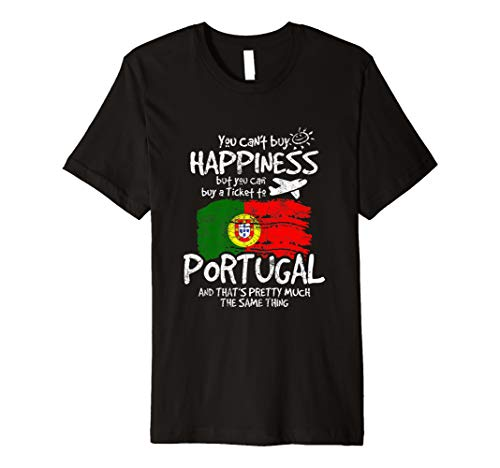 Lustiges Portugal Shirt Portugal Flagge T-Shirt Geschenk