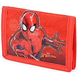 Karactermania Spiderman Spiderweb - Monedero, Rojo, 12 cm