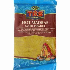 TRS - Madras Curry powder - 100g - Sharp with Chili pepper - Indian Spice from TRS Wholesale Co., Ltd.