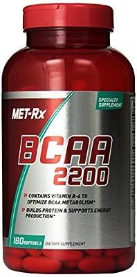 Met-RX Hardcore BCAA 2200 180 sgels by Met-RX