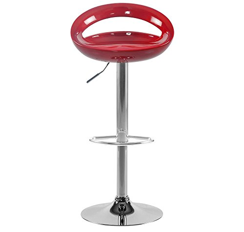 Nilkamal Simplo Bar Stool (Red)