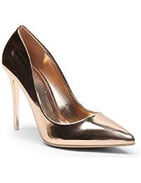 Ideal Shoes - Escarpins classiques vernis Taly