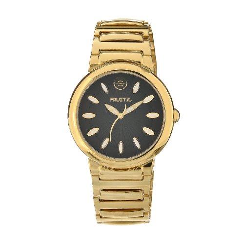 Philip Stein Men's F36G-B-EXB Quartz Stainless Steel Black Dial Watch