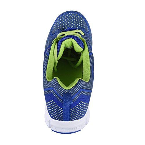 HSM, Chaussures montantes pour Homme bleu/vert