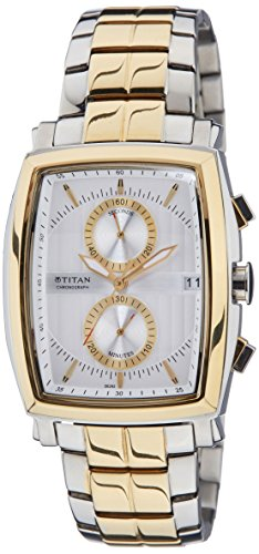 41oGmCg3DYL - Titan 1660BM01 Mens watch