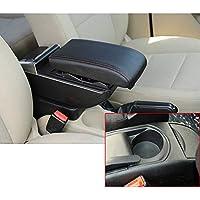 Para 2008-2011 C itroen C4 De lujo Auto Apoyabrazos Consola Central Reposabrazos Accesorios Con