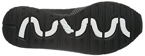 KangaROOS Coil R1-Woven, Scarpe da Ginnastica Unisex – Adulto, Einheitsgröße Nero (Nero (black 500))