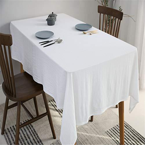 QWEASDZX Einfache und Moderne Tischdecke Ölbeständig Wasserdicht Waschbar Anti-Fleck Tischdecke...