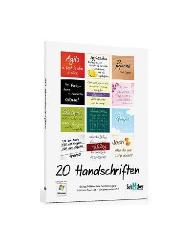 20 Handschriften
