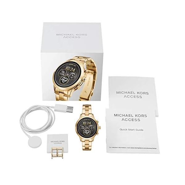 Michael Kors Smartwatch para Mujer con tecnología Wear OS de Google, altavoz, frecuencia cardíaca, GPS, NFC y… 6
