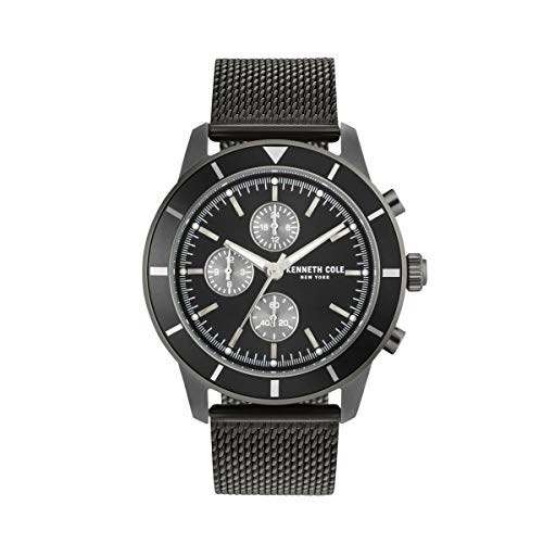 Kenneth Cole New York Reloj de Hombre Reloj de Pulsera Acero Inoxidable kc50573002