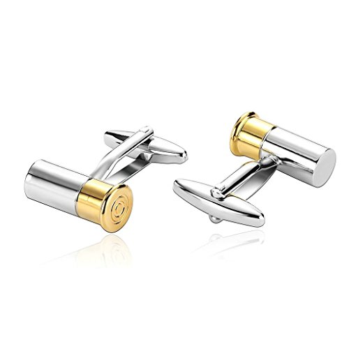epinki-men-stainless-steel-bullet-two-tone-design-gold-silver-tuxedo-shirts-cufflinks