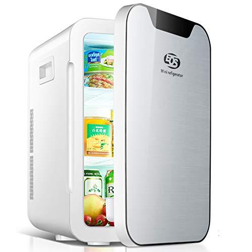 20l Mini-Kühlschrank Cooler, Mini Led Kühlschrank, Getränkedosen Kühler Wärmer, 12V / 240V Dual Input, Silent-Thermo Rennen, Innenmaß 21 * 20 * 35cm, 55 Watt