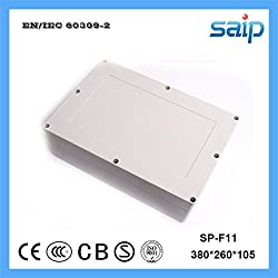 GENERIC Good Quality ABS Outdoor Plastic Enclosure Box 380*260*105(SP-F11)