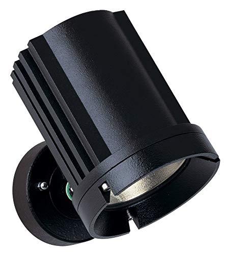 Albert 662420 außenwand Spot, aluminium, Integrated, noir