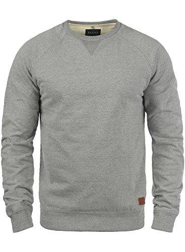 BLEND Alex 20701680ME Sweatshirt, Größe:M;Farbe:Zink Mix (70815)