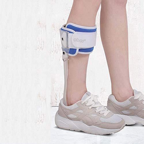 AIWO-LPT Fußstütze Fester Halt for das Fußvalgusgelenk Knöchel Fußstütze und Fußfixierer Beinorthese (Color : Strapwithleftfoot, Size : M) -