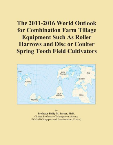 Disc Cultivator (The 2011-2016 World Outlook for Combination Farm Tillage Equipment Such As Roller Harrows and Disc or Coulter Spring Tooth Field Cultivators)