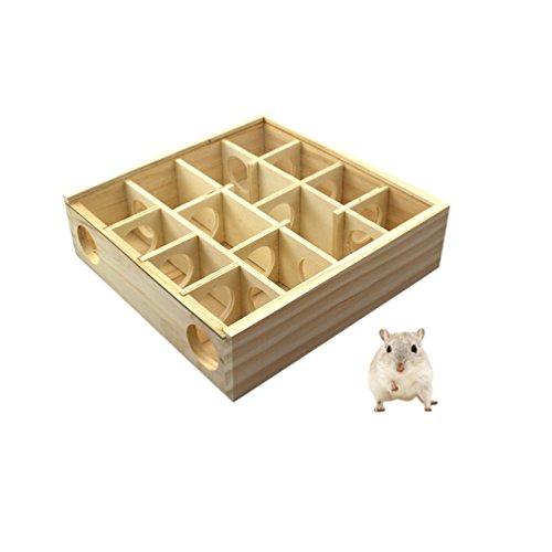 Petacc Hamster Labyrinthe en bois Playground pour...