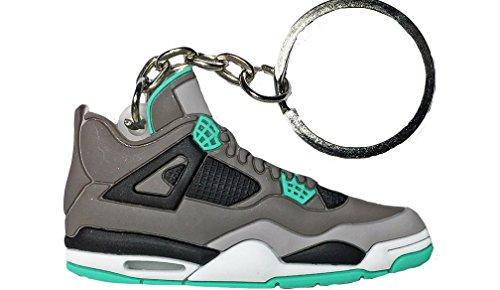 Air Jordan IV Schlüsselanhänger Green Glow Sneaker Keychain 4