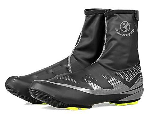Shinmax Couvre-Chaussures, Sports de Plein air Couvre-Chaussures de Vélo Couvre-Chaussures Imperméables, Chauffe-Chaussures Couvre-Chaussures pour Les