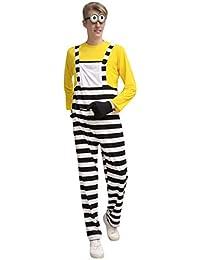 GAOJUAN Disfraz De Halloween rol Adulto Disfraz De Anime Hombre Amarillo,Yellowmale,M