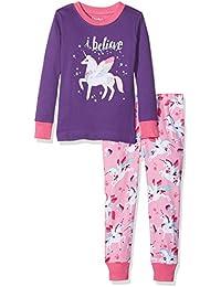 Hatley Long Sleeve Appliqué Pyjama Sets, Conjuntos de Pijama para Niños