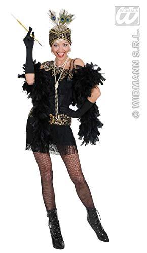 Rouge Charleston Kostüm - Prezer Charleston Flapper schwarz Damenkostüm