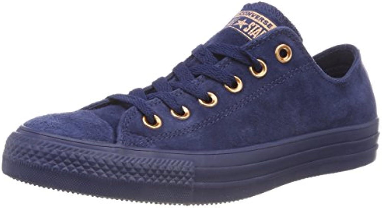 Converse Unisex Erwachsene CTAS OX Navy/Cherry Blossom Sneaker