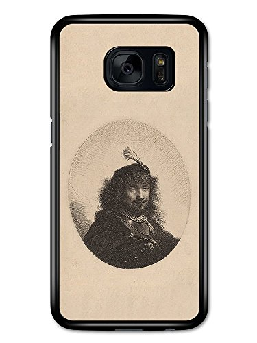Rembrandt Van Rijn Self Portrait Artist Art Vintage hülle für Samsung Galaxy S7 (Van Self Portrait Rijn)