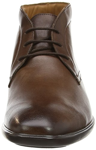 Clarks Gosworth Hi, Boots homme Marron (Walnut Leather)