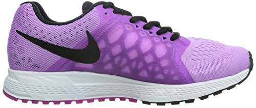 Nike Air Zoom Pegasus 31, Running Entrainement Femme Violet (Fuchsia Glow/Blk/White/Antrctc)