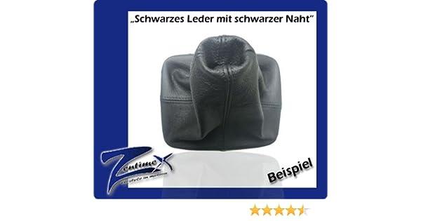 Neox Leder Schaltknauf wei/ß Schaltsack Schaltmanschette