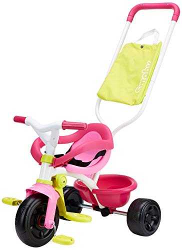 Smoby - 740406 - Tricycle Evolutif Be Fun Confort - Rose