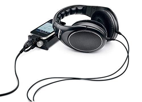 Shure SRH1440, offener Kopfhörer / Over-ear, schwarz, Premium, geräuschunterdrückend, austauschbares Kabel, Velourpolster, natürliche Wiedergabe, erweiterter Übertragungsbereich, linearer Frequenzgang - 6