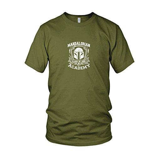 (SW: Mandalorian Academy - Herren T-Shirt, Größe: XL, Farbe: army)