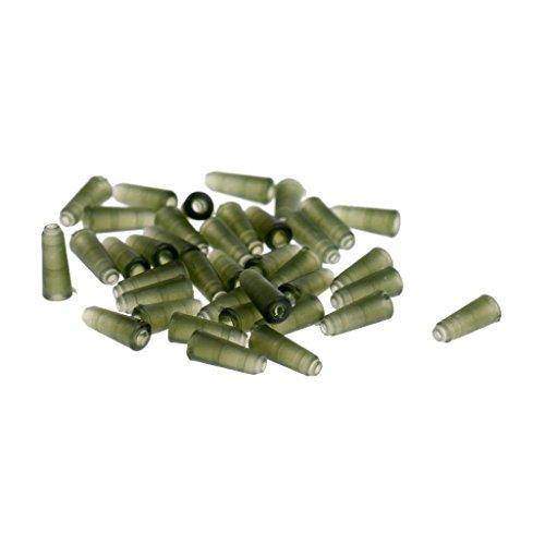 Electroprime® Rubber Tip Fishing Buffer Beads Fishing Rigs Carp Fishing Tackle 10mm Green