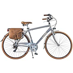 Via Veneto by Canellini Bicicleta Bici Citybike CTB Hombre Vintage Retro Dolce Vita Aluminio Grey Gris (54)