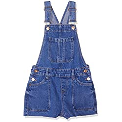 New Look 915 Girl's Selina 6158991 Dungarees, Blue (Bright Blue 43), 15 Years (Manufacturer Size:170)