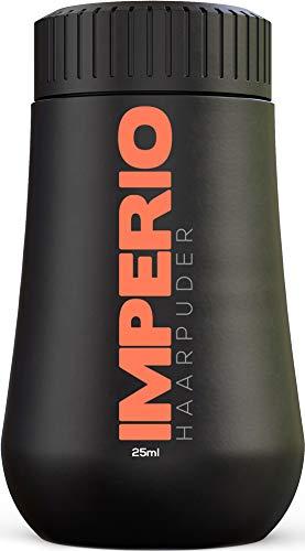 IMPERIO Haarpuder mit matt Effekt für Frauen & Männer | Volumen Puder zum stylen und fixieren in Premium Friseur Qualität | Matt-Look ohne zu verkleben (25ml)